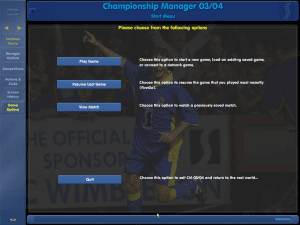 Get Free Download Game Championship Manager 2003/2004 (CM 03/04) for Computer or Laptop