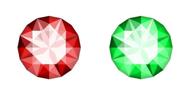 イラレで宝石を描く方法 Illustrator Cc 使い方 Sedgedesign
