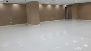 Pengerjaan Screeding, Finish Trowel dan Epoxy