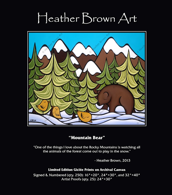 heather brown mountain art