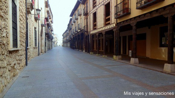 Calle Mayor de El Burgo de Osma, Soria