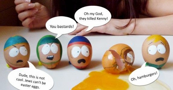 south park easter funny image