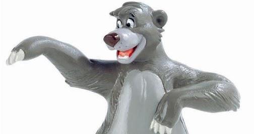 Baloo figura El Libro de la Selva | Merchandising Películas