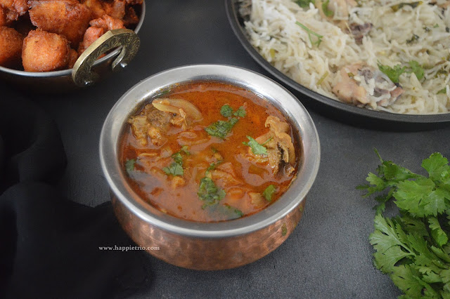 Chicken Gravy Without Coconut Recipe | Simple Chicken Curry