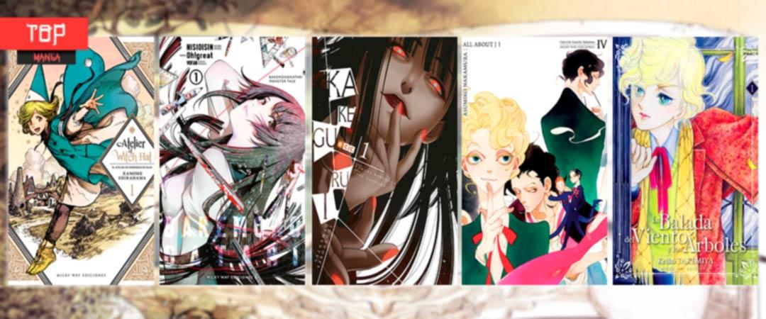 Top 5 mejores mangas de 2018