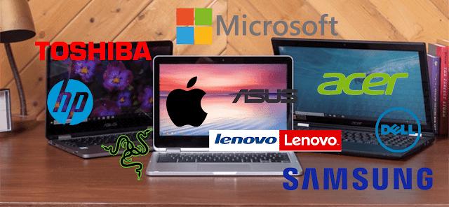 Kumpulan Merk Laptop Paling Awet dan Bagus Digunakan Profesional ataupun Pemula