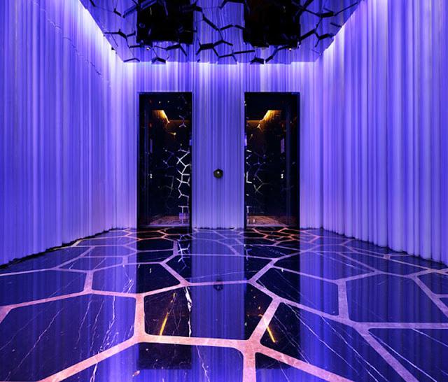 The Entrance of Ozone bar, Ritz-Carlton, Hong Kong