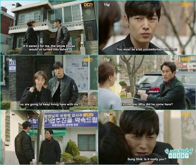 Gwang ho ask the female professor to change her house he can't live with him - Tunnel: Episode 4
