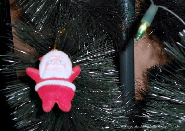 Enfeite, Papai Noel, Natal, árvore de natal