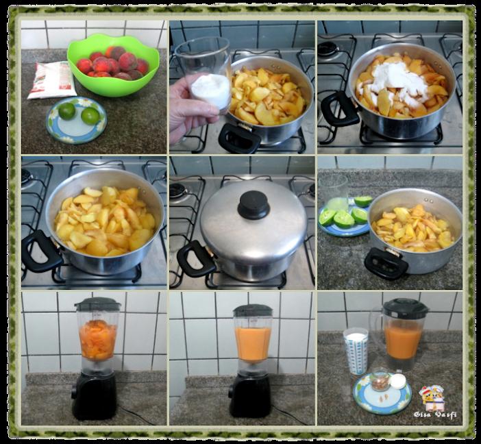 Geleia de pêssegos 3