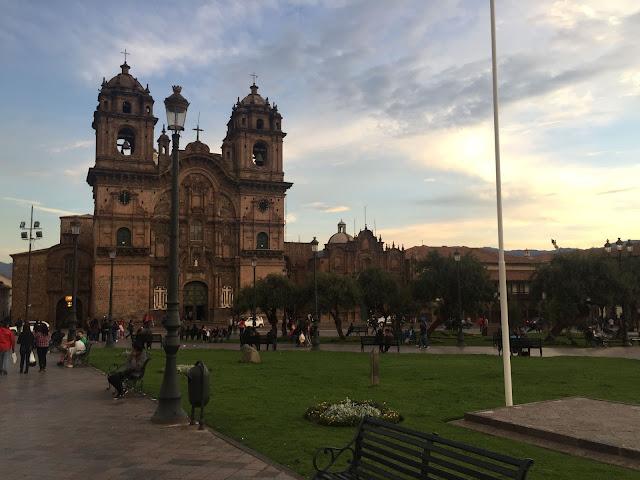 Iglesia de la Compañía de Jesús en Cuzco