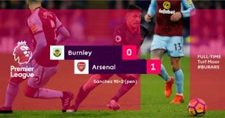 Burnley vs Arsenal 0-1 - Video Gol & Highlights
