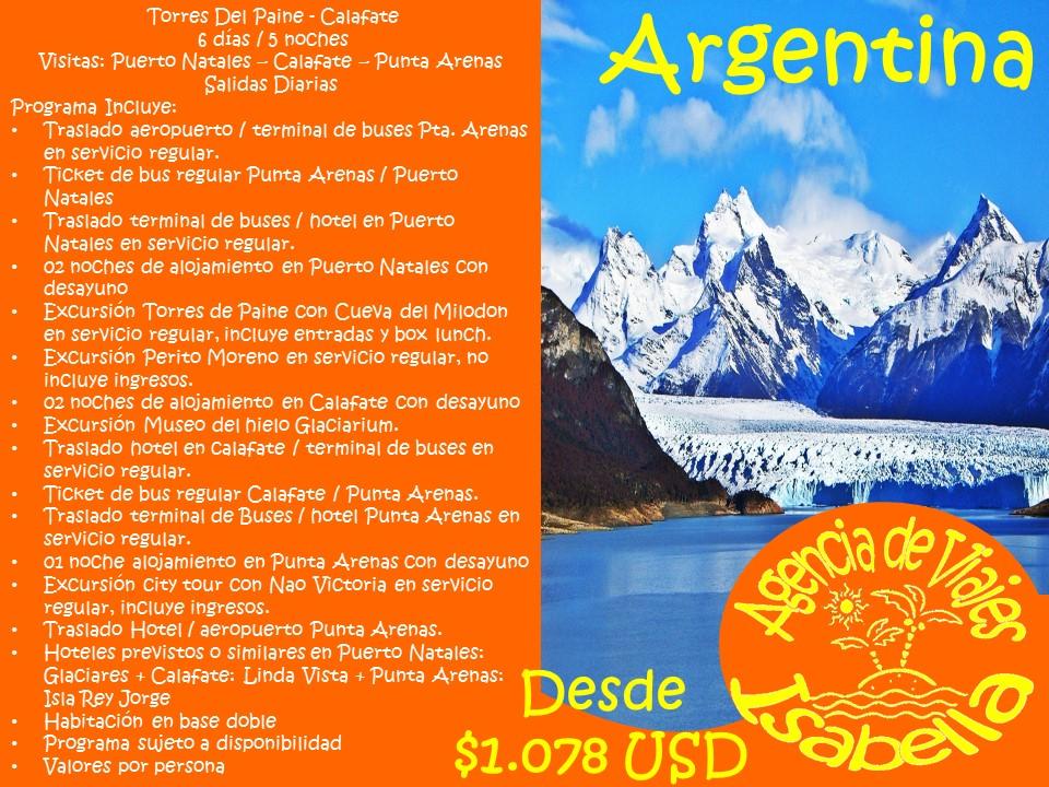 Agencia De Viajes Isabella Argentina
