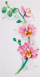 Cross-stitch Панна Ц-1887 «Орхидея»