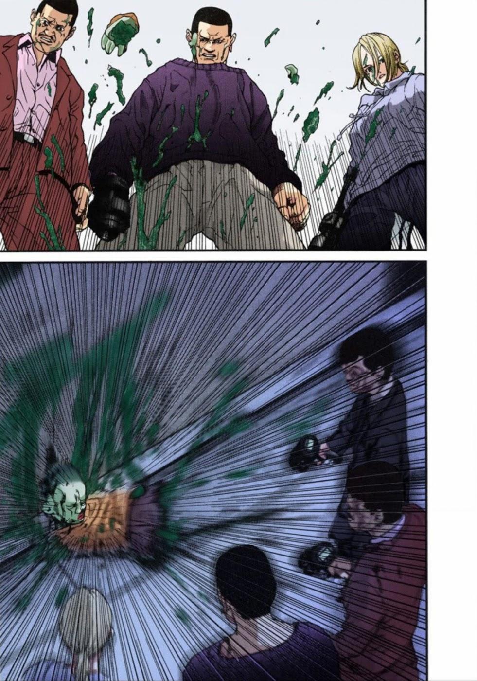 Gantz Chap 08: Tàn sát trang 7