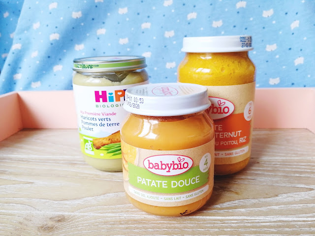 Alimentation Victor - Petits pots salés et légumes BabyBio
