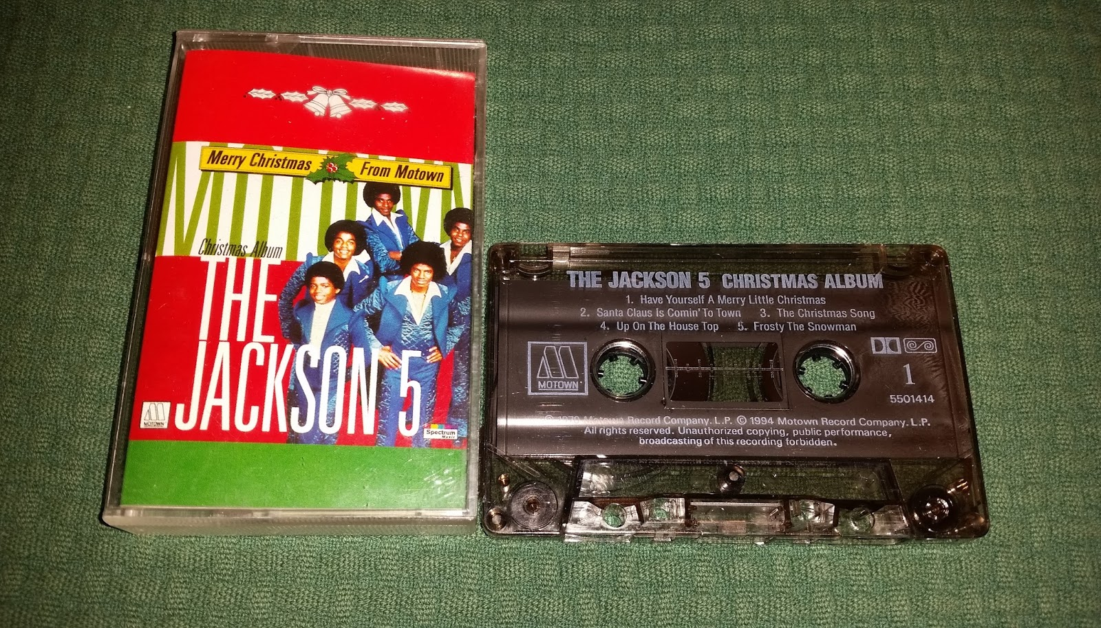 merry christmas from motown holland motown 550141 4 - The Jackson 5 Have Yourself A Merry Little Christmas
