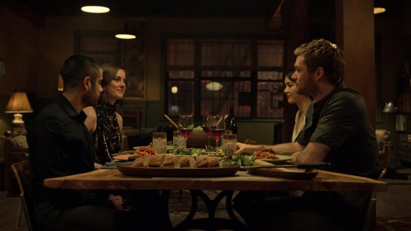 Danny, Colleen, Joy y Davos, en la segunda temporada de Iron Fist