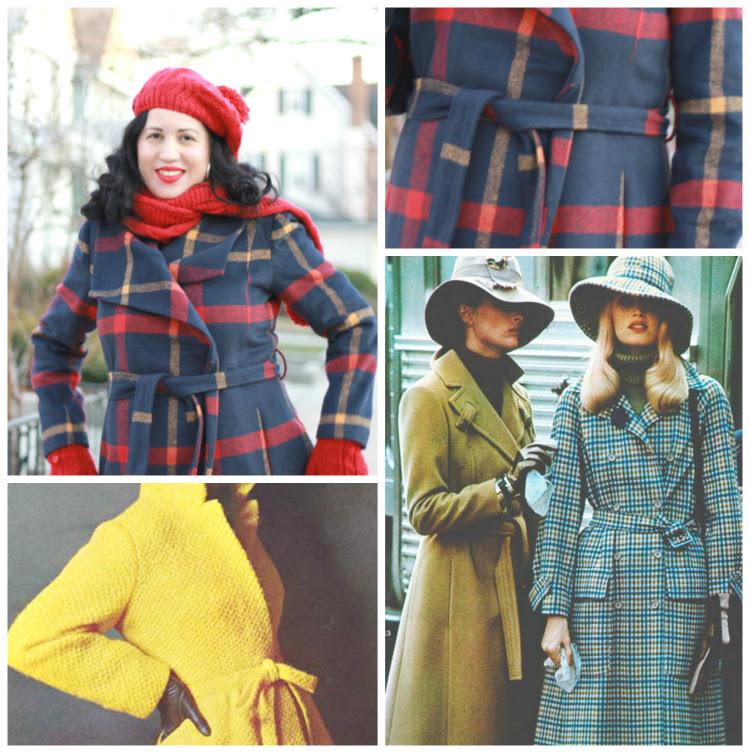 A Vintage Nerd Vintage Style Retro Fashion Inspiration Modcloth Coat