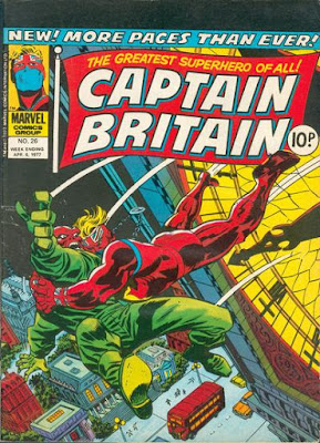 Marvel UK, Captain Britain #26, Red Skull