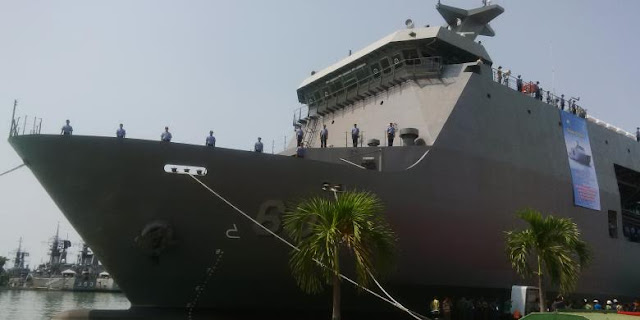 Indonesia Ekspor Kapal Perang Pertama ke Filipina