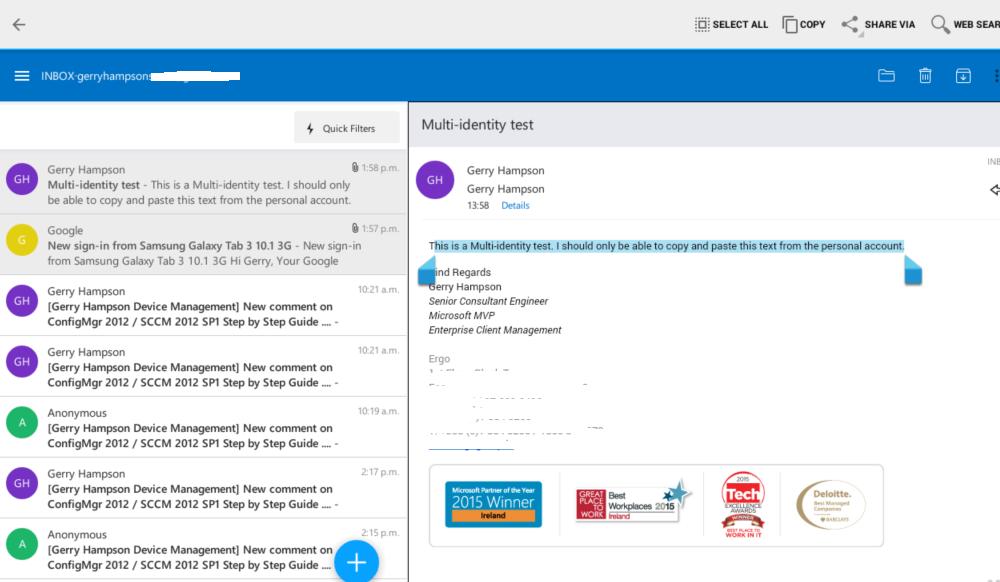 Gerry Hampson Device Management: Multi-Identity in Microsoft