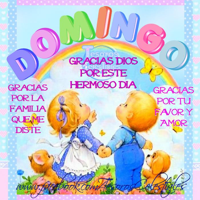 DOMINGO Gracias Dios