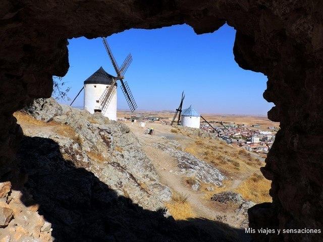 Ruta de los Molinos de viento, Consuegra, Castilla la Mancha, Toledo