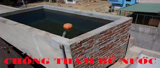 Chống thấm bể nước tại Quảng Ninh
