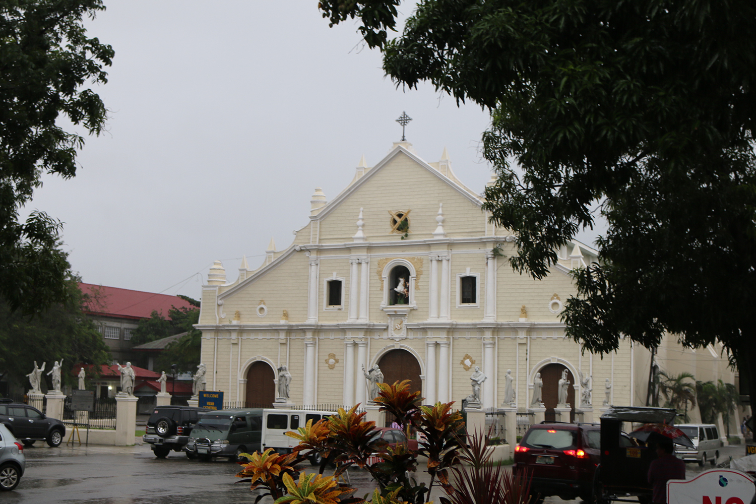 travel Vigan Ilocos Tour Sur Philippines tour tourism St Pauls Metropolitan Cathedral