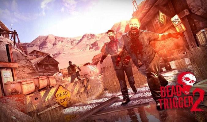 Game FPS Smartphone - Dead Trigger 2