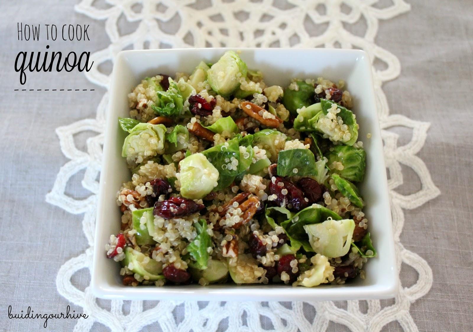 how to cook quinoa grain