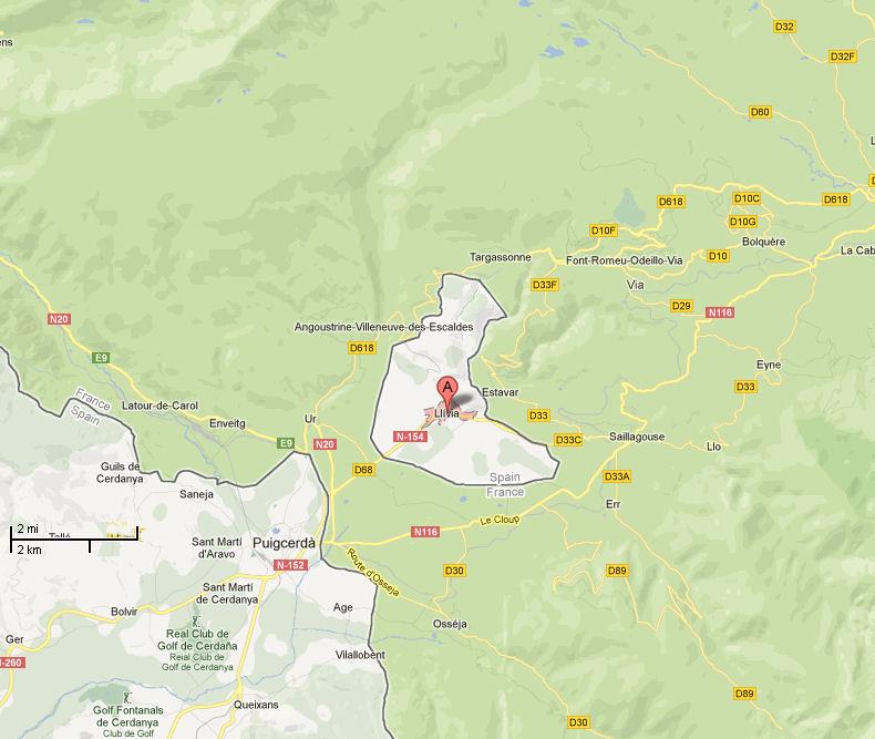 Bloggen Om Languedoc Granser