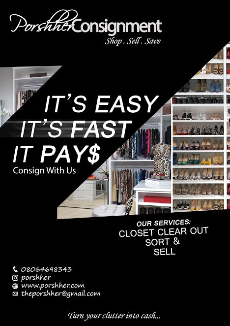 PORSHHER CONSIGNMENT - An online boutique specialized in selling pre-owned authentic designer shoes, designer bags, gorgeous clothing and beautiful jewelry.