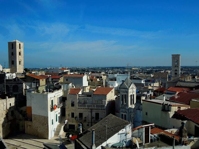 Panorama centro storico Ruvo di Puglia