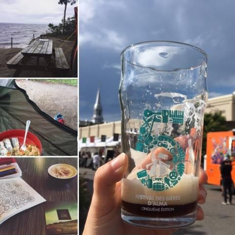 Vacances Lac-St-Jean Festival bières Alma Exode Café