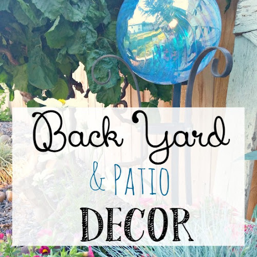 My Backyard and Patio Decor