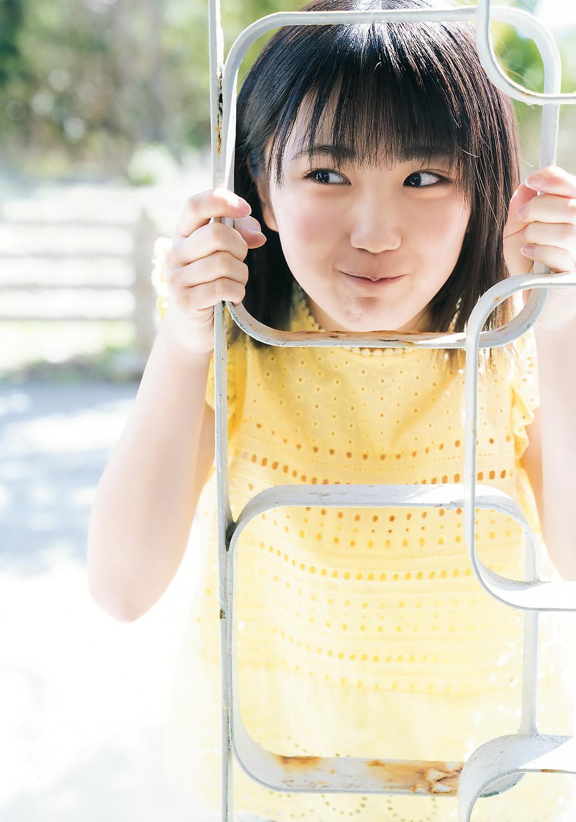 Musubu Funaki 船木結, Young Champion 2018 No.10 (ヤングチャンピオン 2018年10号) Part.02 Angerme, Country Girls