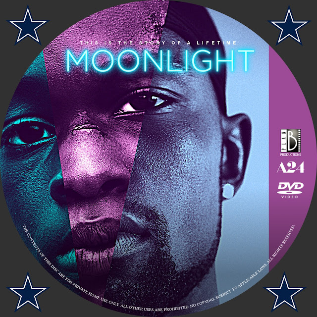 Moonlight DVD Label
