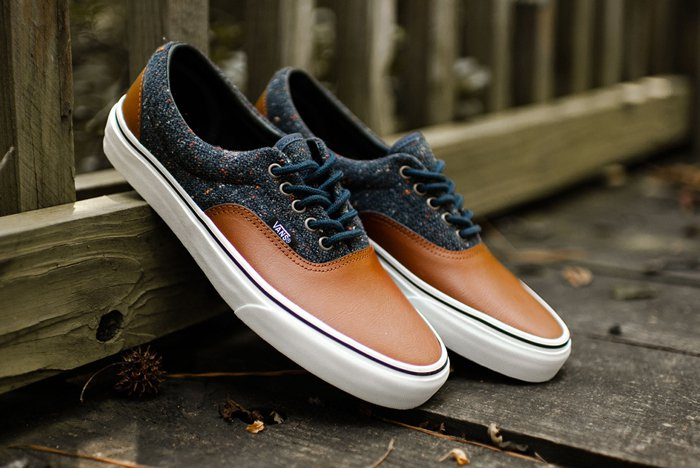 Vans ERA Classics wool leather parisian night