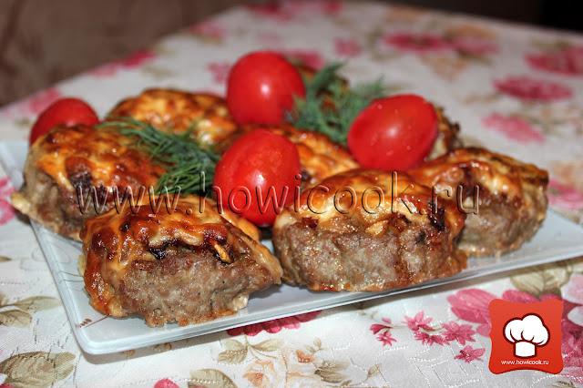 рецепт приготовления мясных котлет в духовке