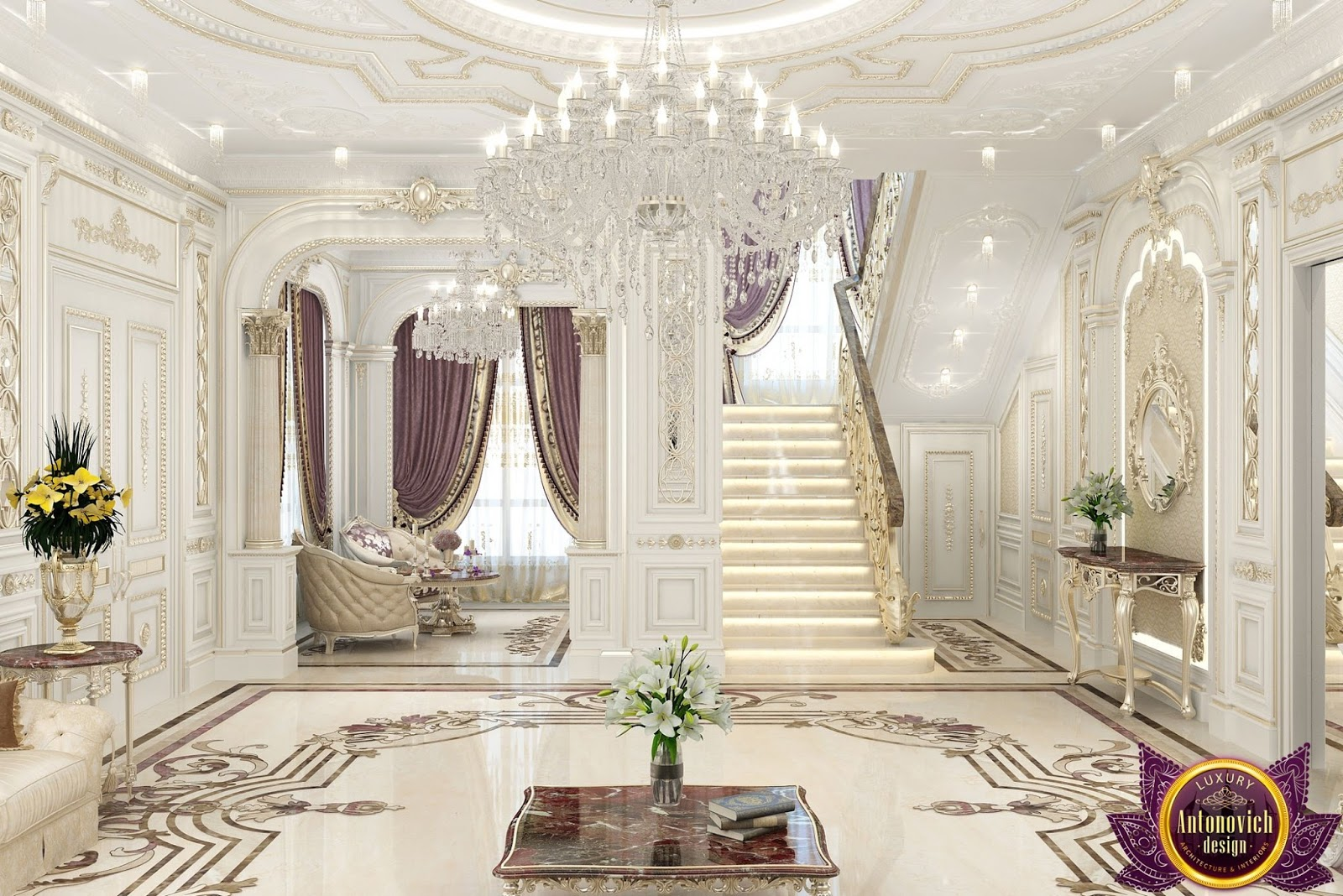 LUXURY ANTONOVICH DESIGN UAE: Most beautiful house Interiors from ...