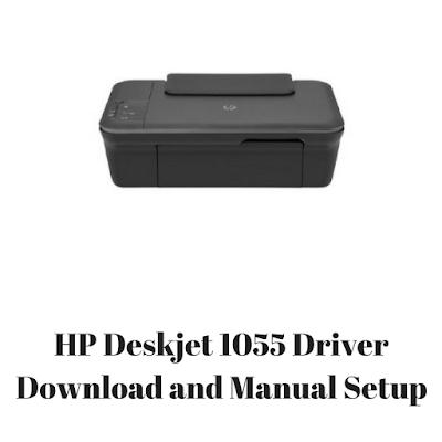 HP Deskjet 1055 Driver Download and Manual Setup