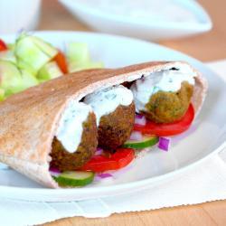 Falafel Sandwich Veggie Patch