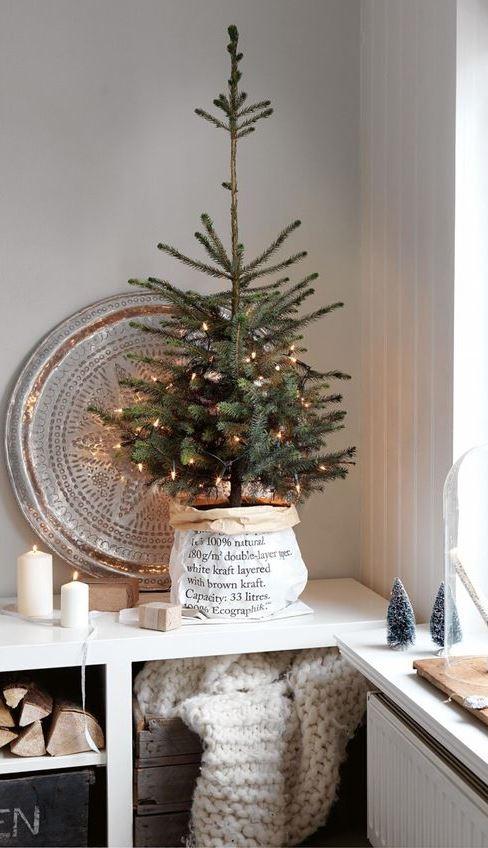 trendy christmas home decor idea