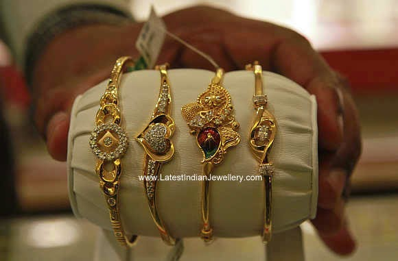 10 Gms Daily Wear Ladies Bracelets Latest Indian