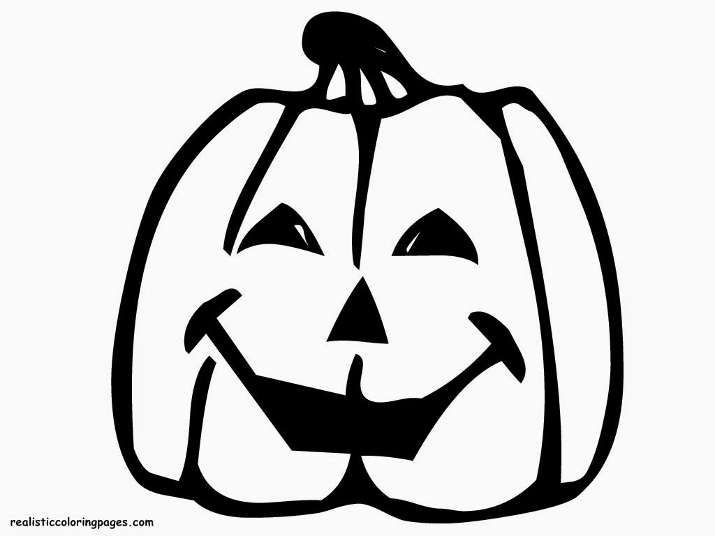 faceless pumpkin coloring pages - photo#38