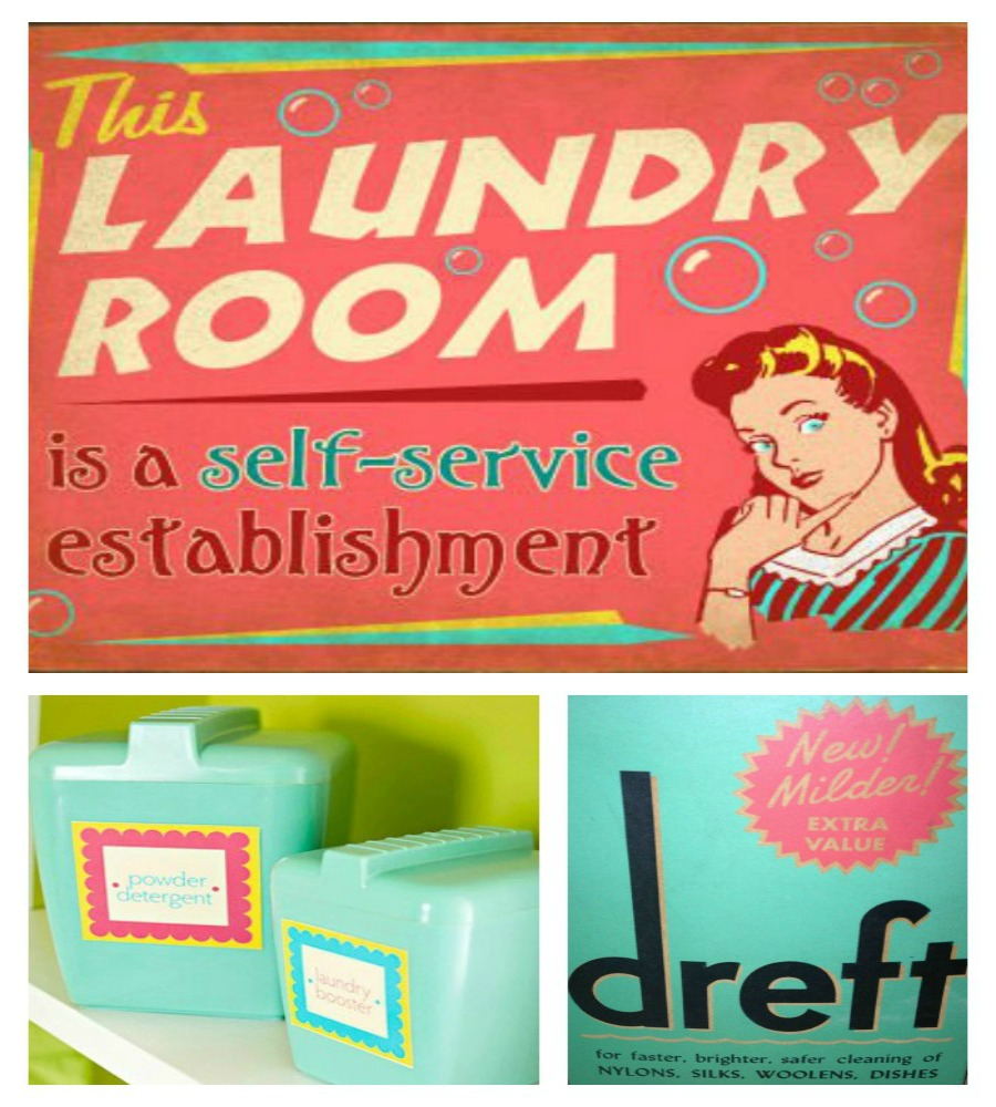 It's just a photo of Crazy Free Vintage Laundry Room Printables