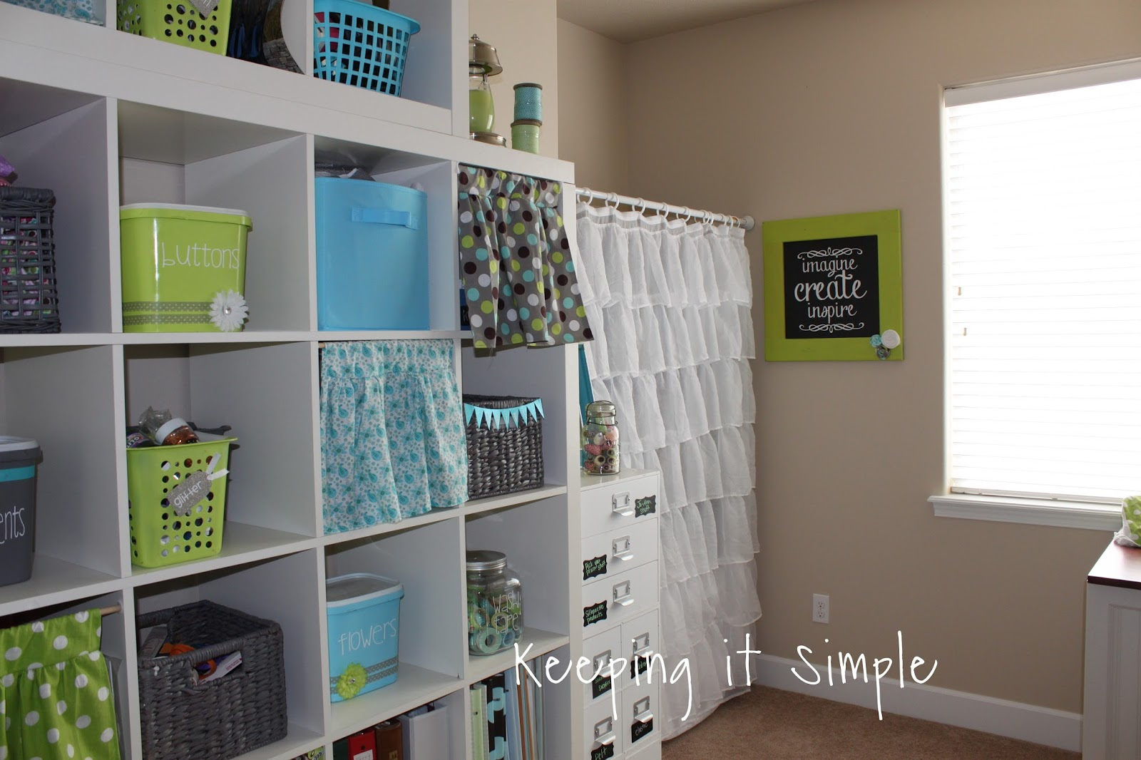 Craft Room Decor Ideas And Supplies Organization Keeping It Simple