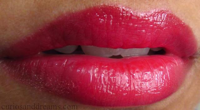 NYX Butter Gloss red velvet review, NYX Butter Gloss review